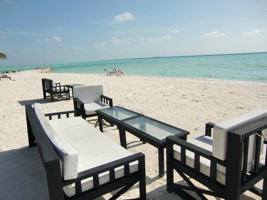 Olhuveli Beach & Spa Resort: playa