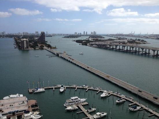 ‪‪Miami Marriott Biscayne Bay‬: the view‬