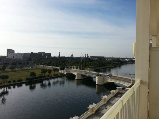 Sheraton Tampa Riverwalk Hotel: View