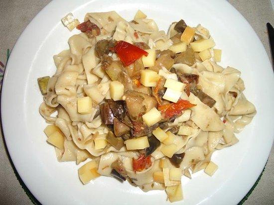 Pousada Horizonte Azul: Um dos pratos preparados pelo Sr. Massimo (pode ser adquirido a noite, qnd funciona o restaurant