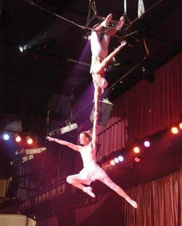 Benidorm Circus: Trapecistas