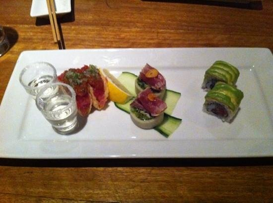 Sake Restaurant & Bar: tuna tasting plate
