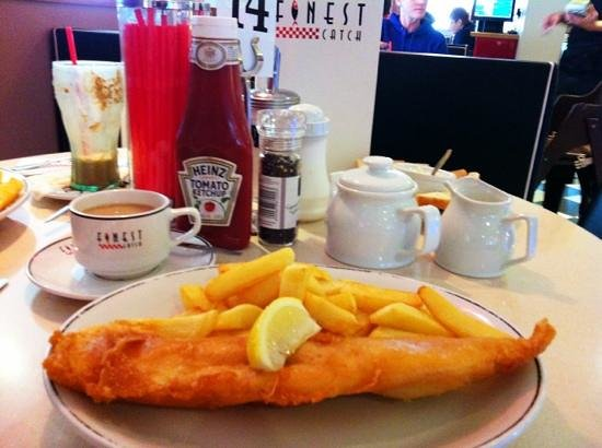 Finest Catch: Yummy fish and chips