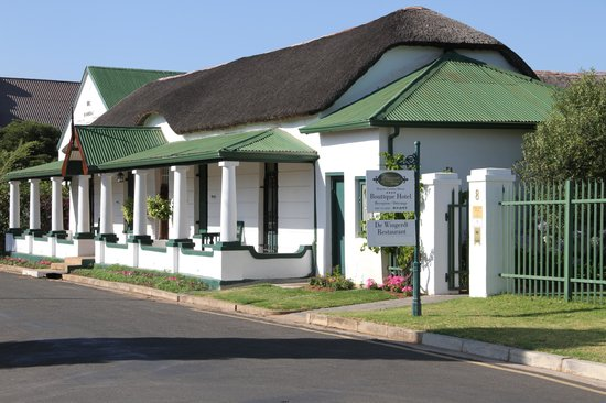 De Doornkraal Historic Country House Boutique Hotel: Part of the hotel complex
