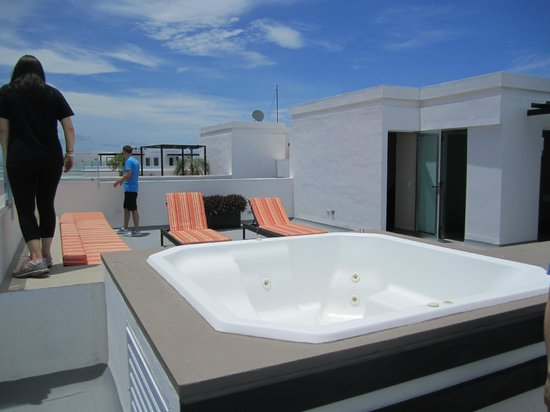 Azul Beach Resort The Fives Playa Del Carmen: Hot tub