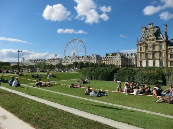 Ferris wheel picture of jardin des tuileries paris for Tuilerie jardin