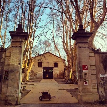 Chateau de Roussan: ingresso