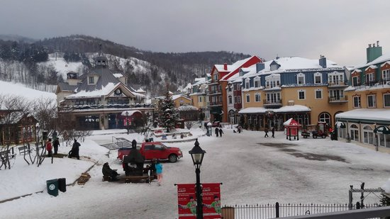 Homewood Suites Mont-Tremblant: View from Room Balcony