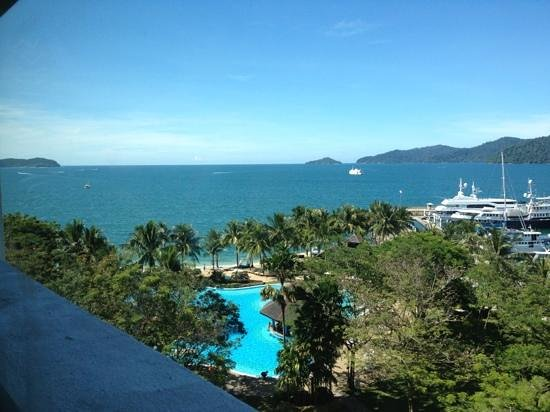 Sutera Harbour Resort (The Pacific Sutera & The Magellan Sutera): view from 7th floor sea view room