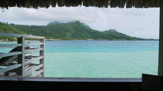 InterContinental Bora Bora Le Moana Resort: view from #3