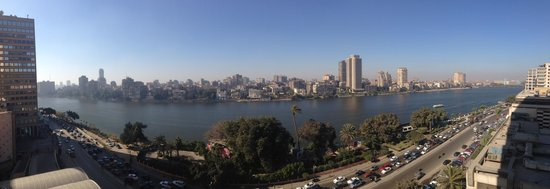 Conrad Cairo: Executive Suite view