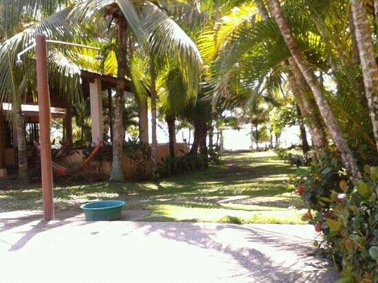 Encantada Ocean Cottages : Salle commune