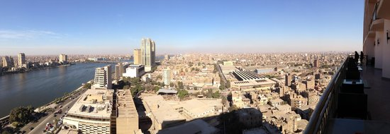 Conrad Cairo: Executive Lounge view