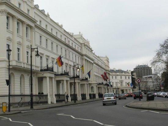 Belgraves, a Thompson Hotel: Environnement de l'hôtel
