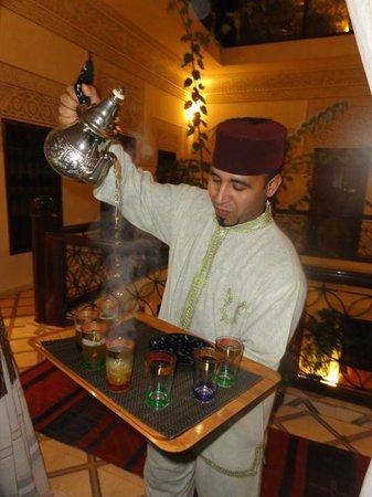 le th la menthe picture of riad les nuits de marrakech marrakech tripadvisor. Black Bedroom Furniture Sets. Home Design Ideas