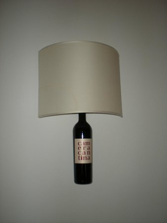 Hotel Gio' Wine e Jazz Area: Lampada