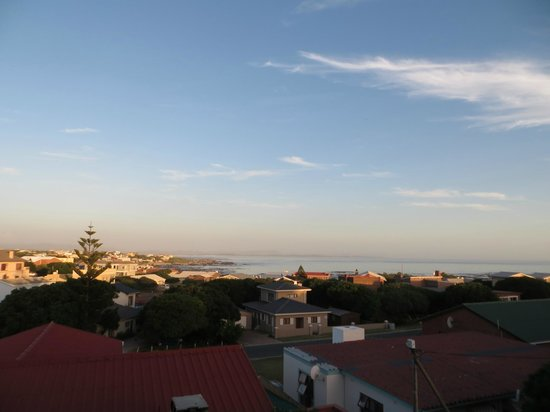 White Shark Guest House : view from deck outside