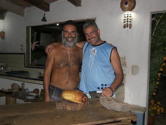 Meson Casa de Piedra: El mejor pan es el que hace Toño