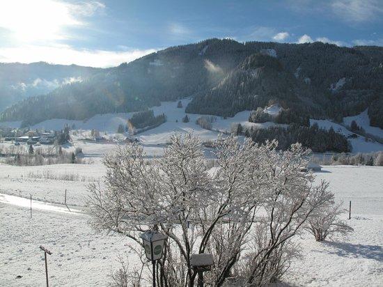 Pension & Ferienwohnung Sonnleiten: verse sneeuw