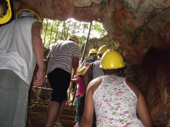 Lapinha Cave: Saida da caverna