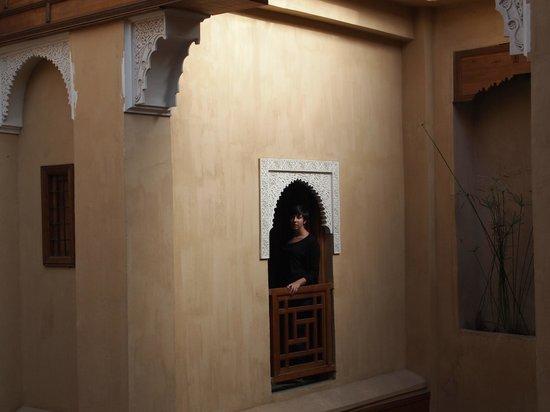 Al Ksar Riad & Spa: nuestra ventana desde zona comun
