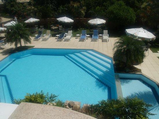 Pousada Marbella: viste desde balcon de habitacion en 2 angar