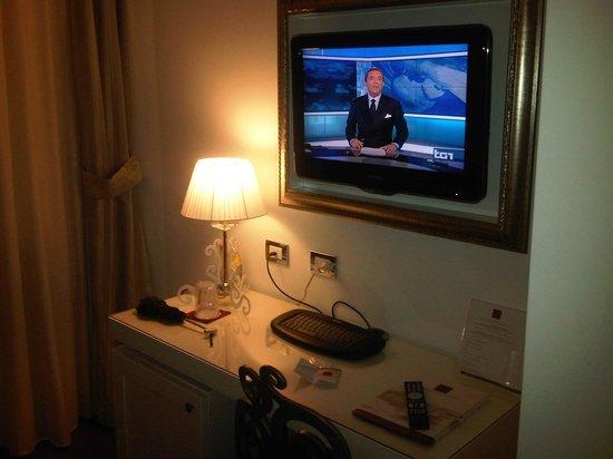 Hotel Oriente: particolare della camera