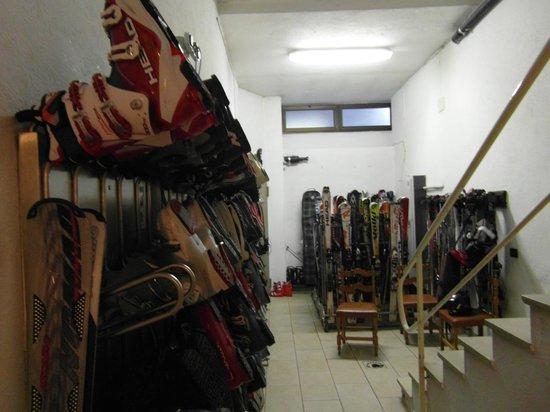 Hotel Breuil : Boot Room