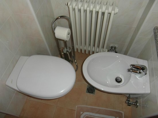 Hotel Breuil : What is the point of the Bidet, especially when there is no room for it?
