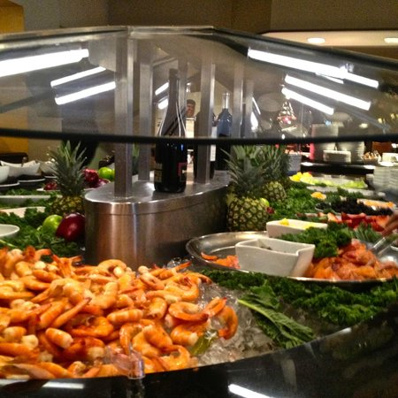 Brunch buffet table picture of 14k restaurant lounge for Table restaurant dc
