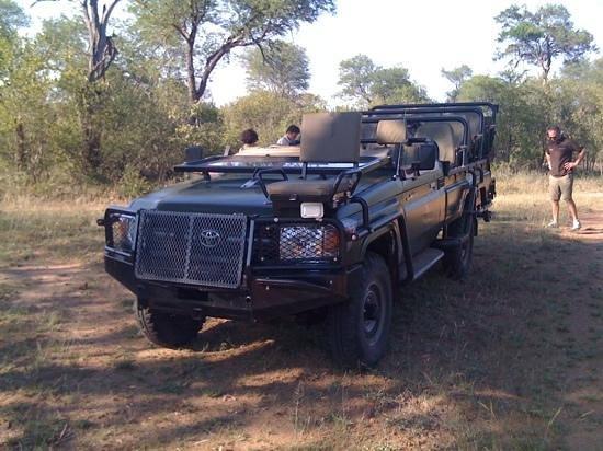 Thornybush Waterside Lodge: jeep del game