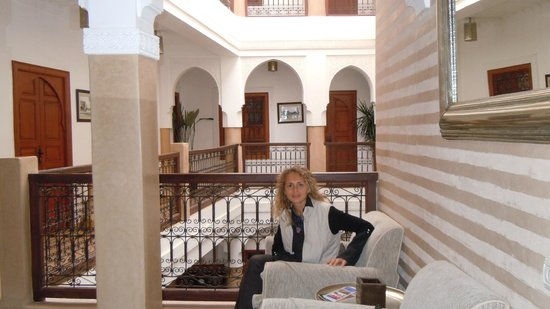 Riad Dar Beldia: our room at back