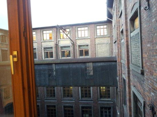 Steffi's Hostel Heidelberg: Blick in Innenhof