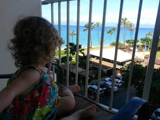 The Westin Maui Resort & Spa: Looking out towards Black Rock