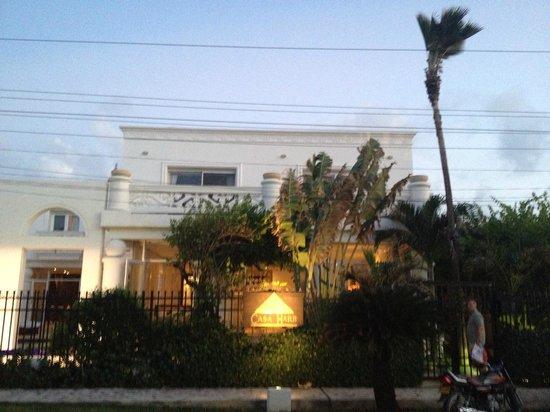 Hotel Casa Harb: The facade