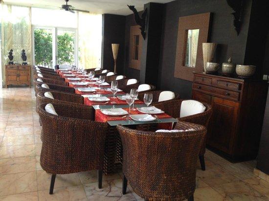 Hotel Casa Harb: Dining room 