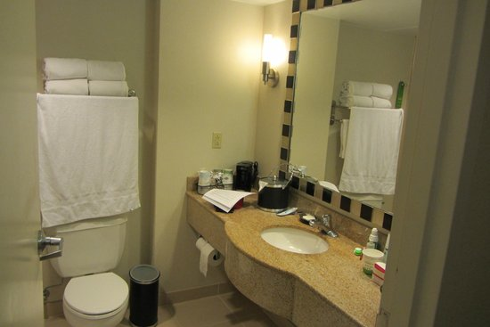 Hampton Inn Washington, DC - Convention Center: baño moderno