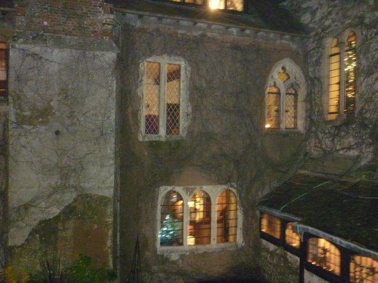 Amberley Castle: View from our room