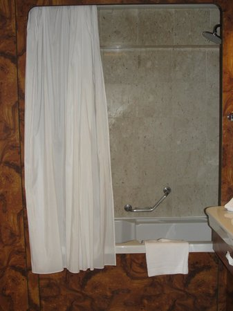 Milan Marriott Hotel: Shower
