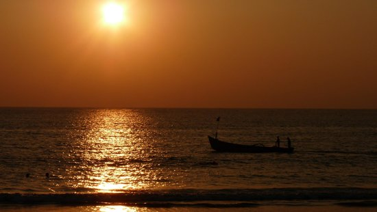 Canacona, India: Sunset