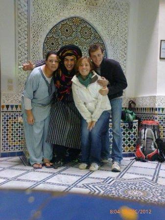 Dar el Yasmine: Sala centrale
