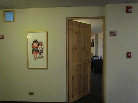 Casa Andina Classic - Puno Tikarani: entrada de la habitacion