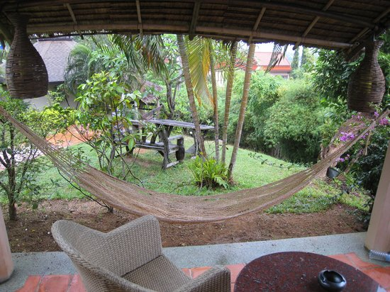 ‪‪Mangosteen Resort & Ayurveda Spa‬: our hammock