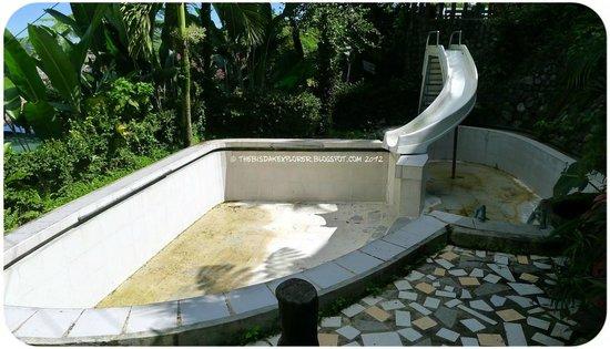 drained pool picture of punta isla lake resort south cotabato