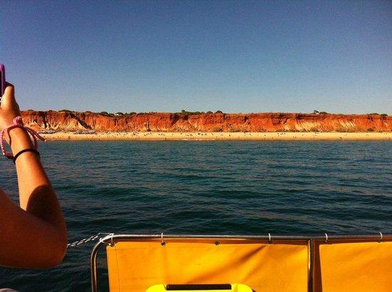 Rio Apartments: boat ride from the marina