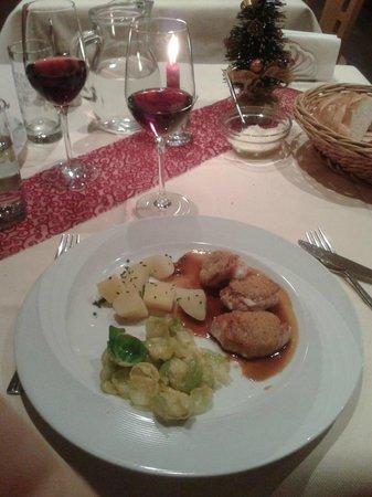 Gasthof Wiesenheim: Cena di carne