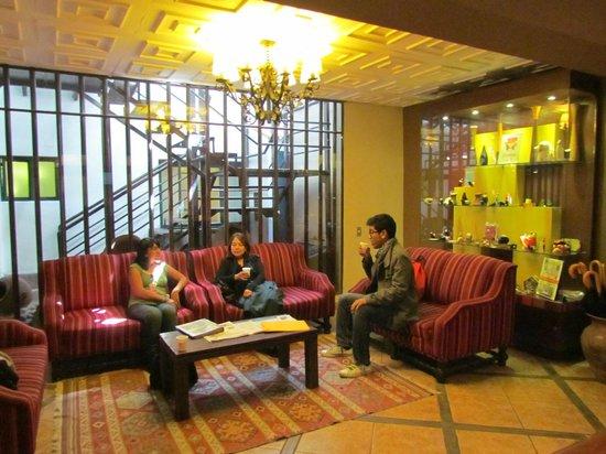 Casa Andina Standard Cusco Plaza: lobby del hotel
