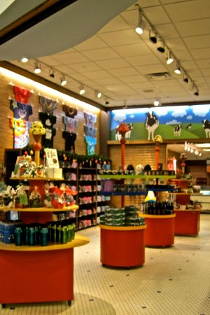 Ben & Jerry's: The souvenir shop