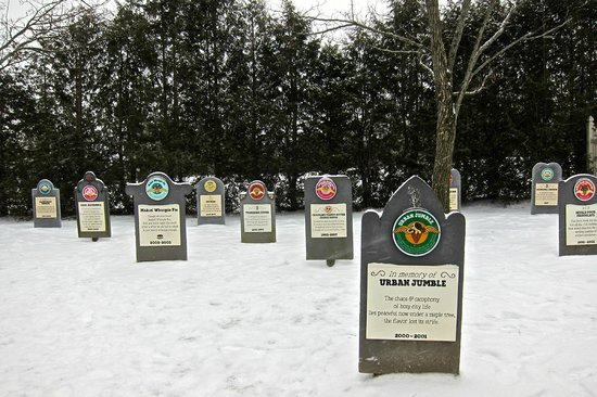 Ben & Jerry's: The B & J cemetary for flavors no longer in the market