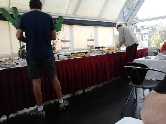 El Conquistador Hotel: Café da manhã